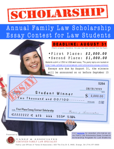 Law student essay contest